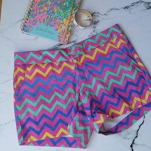 Kaeli Smith Chevron Shorts